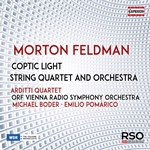 Morton Feldman: Coptic Light & String Quartet & Orchestra
