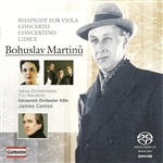 MARTINU, B.: Concertino for Piano Trio and String Orchestra, H. 231 and 232 / Rhapsody-Concerto / Memorial to Lidice (Conlon)
