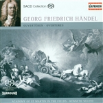 HANDEL, G.F.: Overtures - HWV 5, 6, 34, 33, 38, 67 (Academy of St. Martin in the Fields, Sillito)