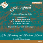Bach J.C.: Orchestral Music