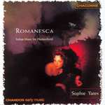 Picchi: Romanesca - Italian Music for Harpsichord