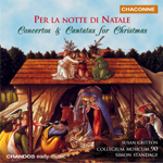 CM90 / Standage -  Concertos and Cantatas for Christmas