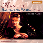 Handel: Harpsichord Works, Vol. 1