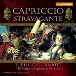 The Purcell Quartet - Capriccio Stravagante, Vol. 1