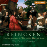 Reincken: Hortus Musicus & Works for Harpsichord