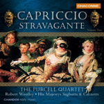 The Purcell Quartet - Capriccio Stravagante, Vol. 2