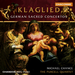 Purcell Quartet - Klaglied: German Sacred Concertos