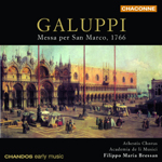 Galuppi: Concerto in D major/ Gloria/Concerto in G minor/Credo