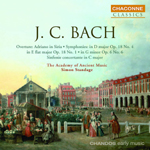 Bach J.C.: Overture and Symphonies
