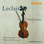 Leclair: Violin Sonatas, Nos 1, 3, 5 & 8