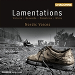 Nordic Voices - Victoria/ Gesualdo/Palestrina/White: Lamentations