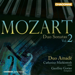 Mozart: Duo Sonatas, Volume 2