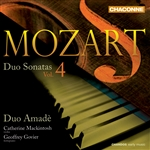 Mozart: Duo Sonatas, Volume 4