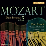 Mozart: Duo Sonatas, Volume 5