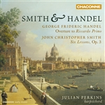 Smith & Handel: Works for Harpsichord - Julian Perkins