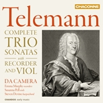 Telemann - Recorder and Viol Trio Sonatas