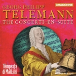 Georg Philipp Telemann - The Concerti-En-Suite