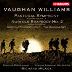 Vaughan Williams: Pastoral Symphony (No.3) · Norfolk Rhapsodies