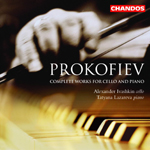 Prokofiev: Works for Piano and Cello