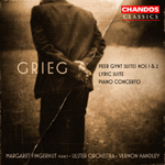 Grieg: Peer Gynt Suites/ Lyric Suite/Piano Concerto
