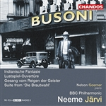 Busoni: Orchestral Works, Volume 2
