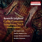 Leighton: Cello Concerto/ Symphony No. 3