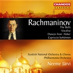 Rachmaninoff: The Bells/ Vocalise/Dances from 'Aleko'/Capriccio bohémien