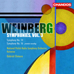 Weinberg: Symphonies Nos 14 and 16
