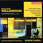 Williamson: Orchestral Works, Volume 1