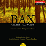 Bax: Orchestral Works, Volume 8