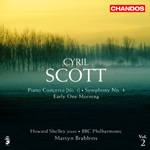 Scott: Piano Concerto/ Symphony No. 4/Early One Morning