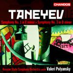Taneyev: Symphonies Nos 1 and 3
