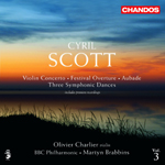 Scott: Festival Overture/ Concerto for Violin and Orchestra