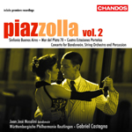 Piazzolla: Orchestral Works, Volume 2