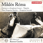 Rozsa: Orchestral Works, Volume 1