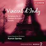 d'Indy: Orchestral Works, Volume 2