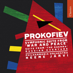 Prokofiev: War & Peace Suite/  Russian Overture