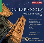 Dallapiccola: Orchestral Works, Volume 2