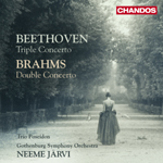 Beethoven/ Brahms: Concertos for Violin, Cello and Orchestra
