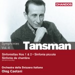 Tansman: Orchestral Works, Volume 4 - Chamber Symphonies