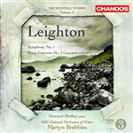 Leighton: Orchestral Works, Volume 3