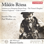 Rozsa: Orchestral Works, Volume 2