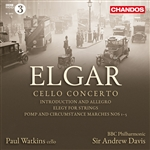 Elgar: Cello Concerto/Introduction and Allegro/Elegy/Marches Nos 1 to 5