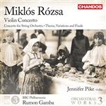 Rozsa: Orchestral Works, Volume 3