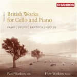 Paul Watkins - British Works for Cello and Piano, Volume 1