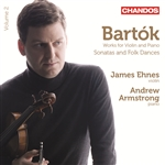 Bartok: Works for Violin and Piano, Volume 2