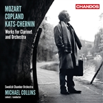 Mozart/Copland/Kats-Chernin: Works for Clarinet and Orchestra
