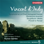 d'Indy: Orchestral Works, Volume 5