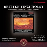 Finzi: Requiem de Camera · Britten/Holst: Choral Works