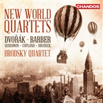 Brodsky Quartet - New World Quartets